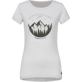 super.natural Printed Camiseta Mujer, gris